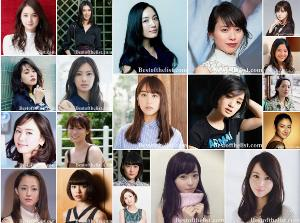 The Most Beautiful Japanese Actresses 2019-2