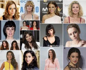 The Most Beautiful Spanish Actresses 2019-2