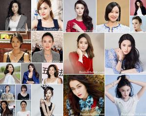 The Most Beautiful Chinese Actresses 2019-2