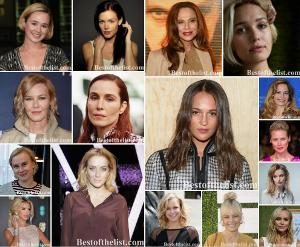 The Most Beautiful Scandinavian Actresses 2020-2